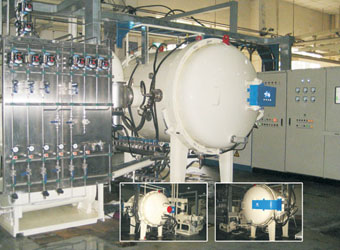 New Type Rapid-cooling Vacuum Sinter Furnace